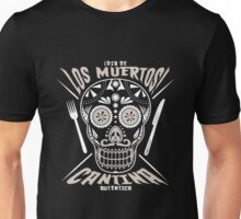 Mexican - Day Of The Dead Authentic Cantina Unisex T-Shirt