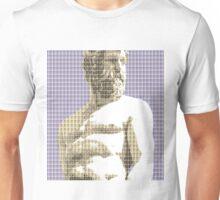 Greek Statue #2 - Violet Unisex T-Shirt