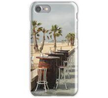 Bar stools iPhone Case/Skin