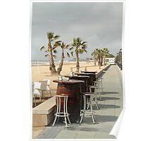 Bar stools Poster
