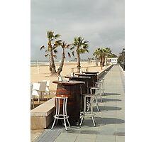 Bar stools Photographic Print