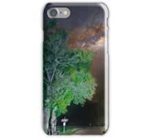 Majestic tree under the milky way iPhone Case/Skin