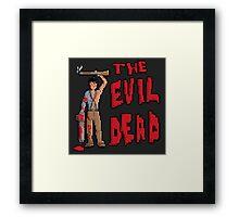 Evil Dead Pixel Art Framed Print