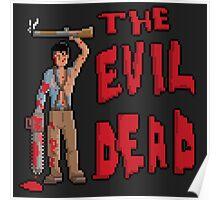 Evil Dead Pixel Art Poster