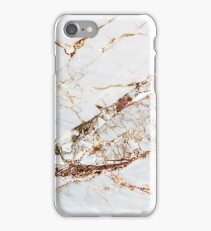 Cracked Marble  iPhone Case/Skin