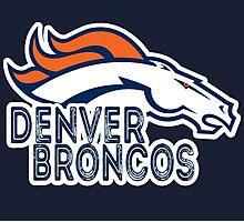Denver Broncos. Photographic Print