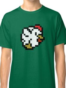 Chicken (8-bit / 16-bit / Pixelated) Classic T-Shirt