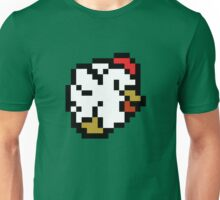 Chicken (8-bit / 16-bit / Pixelated) Unisex T-Shirt