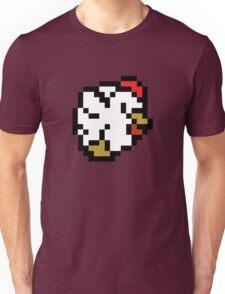 Chicken (8-bit / 16-bit / Pixelated) Unisex T-Shirt