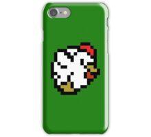 Chicken (8-bit / 16-bit / Pixelated) iPhone Case/Skin