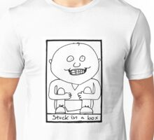 stuck in a box Unisex T-Shirt