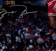 Michael Jordan Slam Dunk 2 Sticker
