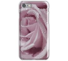 Macro Pink Rose iPhone Case/Skin