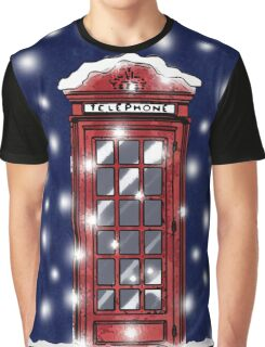 A London Christmas Eve Graphic T-Shirt