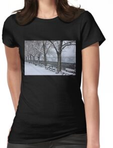 Snow White Prague Womens Fitted T-Shirt