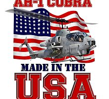 AH-1 Cobra Made in the USA by Mil Merchant