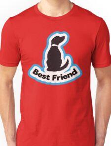 Dog best friend Unisex T-Shirt