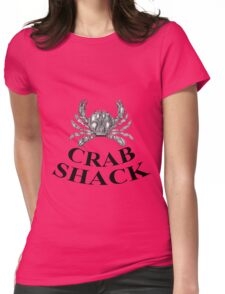 Vintage Crab Shack Womens Fitted T-Shirt