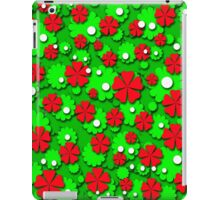 Xmas flowers iPad Case/Skin