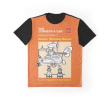 Owners' Manual - CONVERT-A-CAR - T-shirt Graphic T-Shirt
