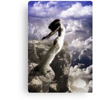 leap of the faithless Canvas Print