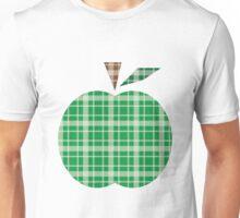 Plaid Apple.  Unisex T-Shirt