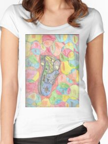 The amazing shoe dream Women's Fitted Scoop T-Shirt