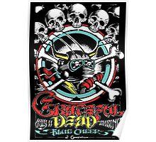 Grateful Dead - Vintage Shrine Blue Cheer Gig Poster  Poster
