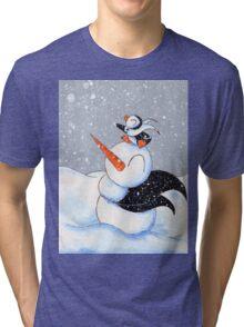 Scarf Buddies Tri-blend T-Shirt