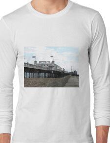 Brighton Pier Seaside entertainment Long Sleeve T-Shirt