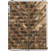 grilled metal iPad Case/Skin