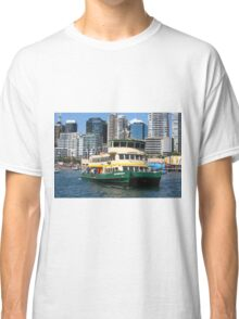 Sydney Ferry Harbour New South Wales Australia  Classic T-Shirt