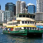 Sydney Ferry Harbour New South Wales Australia  by Martin Berry Photography