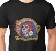 Mexican - Red Catrina Unisex T-Shirt