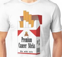 Premium Cancer Sticks Unisex T-Shirt