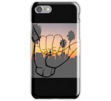Shaka City Sundown  iPhone Case/Skin