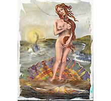 Venus and Moby Dick: Clash of the Classics Photographic Print