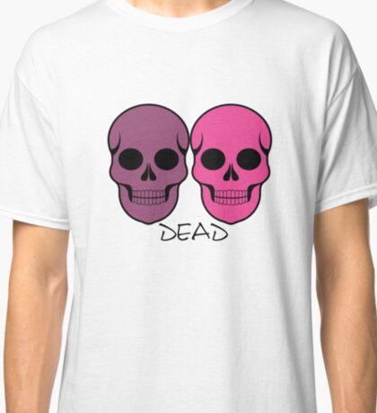 The pattern with skulls. Day of the Dead Classic T-Shirt