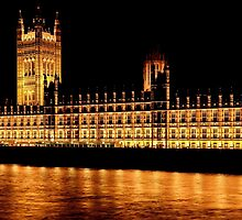 Nighttime at Westminster by April McNett