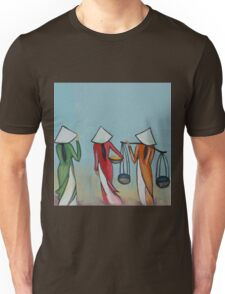 walking  Unisex T-Shirt