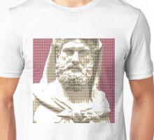 Greek Statue #3 - Dark Red Unisex T-Shirt