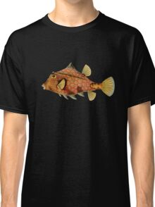 Plants and Animals, ocean, sea creature, fish, Ostraciontes, marine, psychedelic, art, illustration, haeckel,  Classic T-Shirt