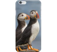 Mr & Mrs Puffin iPhone Case/Skin