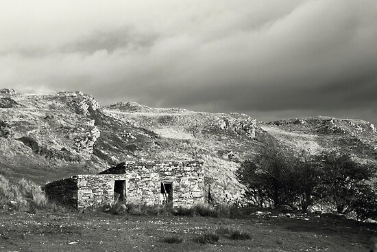 Stone hut, rural Ireland by Agnes McGuinness