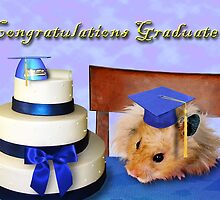 Graduation Hamster by jkartlife