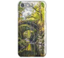 Penmachno Roman Bridge  iPhone Case/Skin