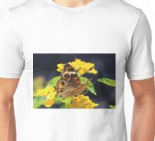 Common Buckeye On Flower Unisex T-Shirt