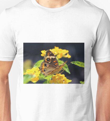 Common Buckeye On Flower Unisex T-Shirt