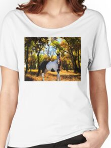 Painted Women's Relaxed Fit T-Shirt