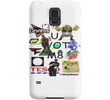 U WOT M8 Montage Parody (Dress Code Safe) Samsung Galaxy Case/Skin